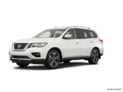 2017 Nissan Pathfinder Platinum V6 4x4 at