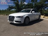 2014 Audi A4 2.0 quattro Komfort   Certified