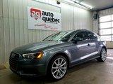 Audi A3 2.0T TFSI Technik / Toit Pano / Navi / Quattro 2015 Garantie Audi Canada Full 25/04/2019 ou 80 000 km