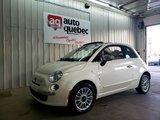 Fiat 500 Lounge Convertible / Jamais Accidenté 2012 Bas Kilo / Garantie 1 An ou 15 000 km GMP / Inclus