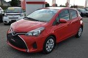 2015 Toyota Yaris A/C,CRUISE,BLUETOOTH,VITRE ELECTRIQUE