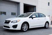Subaru Impreza TOURING 4WD BLANC PERLE TOUTE ÉQUIPÉ 2014 UN SEUL PROPRIO COMME NEUF