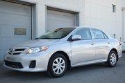 Toyota Corolla TOUTE ÉQUIPÉ AIR PORTES VITRES SIÈGES CHAUFFANT 2012 UN SEUL PROPRIO JAMAIS ACCIDENTÉ