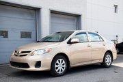 Toyota Corolla TOUTE ÉQUIPÉ AIR PORTES VITRES SIÈGES CHAUFFANT 2013 UN SEUL PROPRIO JAMAIS ACCIDENTÉ