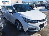 2018 Chevrolet Cruze LT  - Bluetooth -  Heated Seats - $165.52 B/W