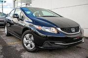 Honda Civic LX*64$/SEM*GARANTIE 3 ANS/65 000 KILOMÈTRES* 2013 *64$/SEM*GARANTIE 3 ANS/65 000 KILOMÈTRES*