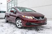 Honda Civic LX*72$/SEM*GARANTIE 3 ANS/60 000 KILOMÈTRES* 2015 *72$/SEM*GARANTIE 3 ANS/60 000 KILOMÈTRES*