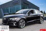 2017 Audi A3 2.0T Progressiv quattro 6sp S tronic Under 5000 km - 2017 A3