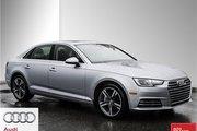 2017 Audi A4 2.0T Progressiv quattro 7sp S tronic Certified 2017 A4