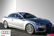 2018 Audi A5 2.0T Progressiv quattro 7sp S Tronic Cpe 2018 A5 Coupe - Low KM