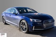 2018 Audi S5 Sportback 3.0T Technik quattro 8sp Tiptronic 2018 Audi S5 Sportback - Approx. 1000 km