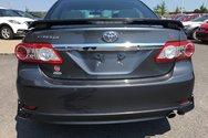 Toyota COROLLA S S,JAMAIS ACCIDENTÉ,INSPECTÉ 2012