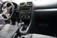 2013 Volkswagen Golf 2.5L, COMFORTLINE, TOIT, BLUETOOTH