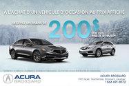 Acura RDX BASE / DÉMARREUR A DISTANCE 2015