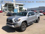 2017 Toyota Tacoma Limited  - Navigation -  Sunroof - $252.10 B/W