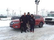 Notre nouveau Nissan rogue 2017