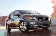 Les récompenses de la Honda Odyssey