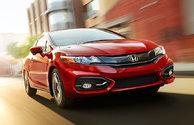 Les récompenses de la Honda Civic Coupé