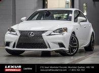 2014 Lexus IS 250 F SPORT II AWD; CUIR TOIT GPS