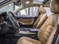 2016 Lexus IS 300 LUXURY AWD; CUIR TOIT GPS ANGLES MORT MAGS