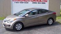 Hyundai Elantra L Clean Carproof!! Local Trade!! AIR CLIMATISER!! IMPÉCABLE!! 2013