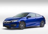 La nouvelle Honda Civic Coupe 2016 en vente depuis le 24 mars