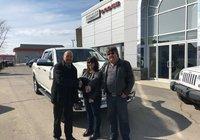 Félicitation à M. Robert Dubé pour son super Ram 1500 Laramie Longhorn. Bonne route.