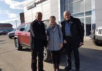 Un gros merci à nos client Mme Danielle Chouinard et M. Egide Saindon pour l'achat de leur nouveau Jeep Cherokee.
