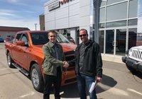 Merci beaucoup à M.Bruno Gamache pour l'achat de son nouveau Ram Sport.