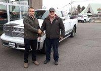 Merci à M. Robert Blanchette de Baker-brook au Nouveau-Brunswick pour l'achat de son magnifique Ram 1500 Laramie. Bonne route !