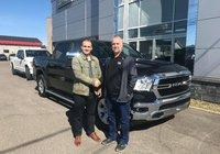 Merci à Michael Michaud de la Zone Sportive pour l'achat de son Ram Big Horn 2019! Bonne route !!!