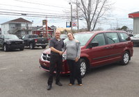 Merci à Mme. Christine Morin pour l'achat de sa Grand Caravan 2015 Félicitation et bonne route .