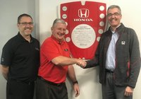 Thank you for making us a Driving Excellence Dealer
