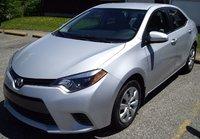 2015 Toyota Corolla COR L/LE/LEPL/PR/S/SPL/PR