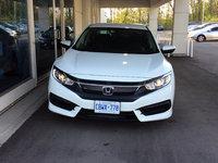 White Honda Civic!