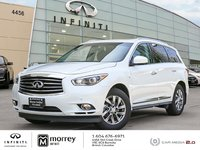 2015 Infiniti QX60 PREMIUM NAVIGATION ULTRA LOW KMS! Low KMs - One Owner, Local BC Vehicle !