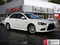 2015 Mitsubishi Lancer SE Limited Edition 5-speed Manual Local BC Car, One Owner!