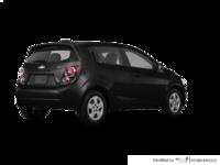 2016 Chevrolet Sonic Hatchback LS   Photo 2   Mosaic Black Metallic