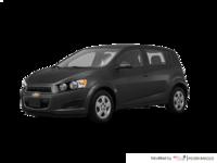 2016 Chevrolet Sonic Hatchback LS   Photo 3   Nightfall Grey Metallic