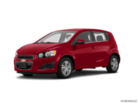 2016 Chevrolet Sonic Hatchback LT   Photo 3   Crystal Red