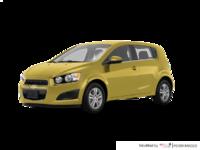 2016 Chevrolet Sonic Hatchback LT   Photo 3   Bright Yellow