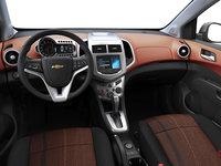 2016 Chevrolet Sonic Hatchback LT   Photo 3   Jet Black/Brick Deluxe Cloth