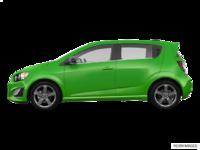 2016 Chevrolet Sonic Hatchback RS | Photo 1 | Dragon Green Metallic