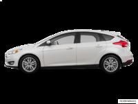2016 Ford Focus Hatchback TITANIUM | Photo 1 | White Platinum