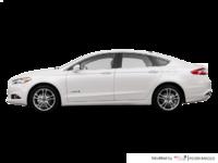 2016 Ford Fusion Hybrid TITANIUM | Photo 1 | White Platinum