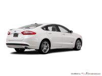 2016 Ford Fusion Hybrid TITANIUM | Photo 2 | White Platinum