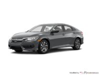 2016 Honda Civic Sedan EX-SENSING   Photo 3   Modern Steel Metallic