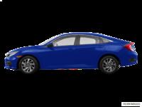 2016 Honda Civic Sedan EX | Photo 1 | Aegean Blue Metallic