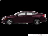 2016 Honda Civic Sedan EX | Photo 1 | Burgandy Night Pearl
