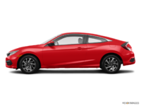 2016 Honda Civic Coupe LX | Photo 1 | Rallye Red